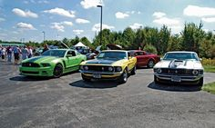 Conquering the car show with a 2013 Ford Mustang Boss 302    Read more: http://www.autoweek.com/article/20121004/carnews01/121009946#ixzz28LY4GZ8Y