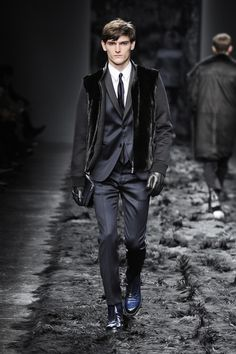 Fendi Men's Fall/Winter 2014-15 Collection - Look 45