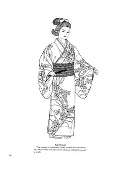 Japanese Coloring Pages | ... japanese fashions 24 next image japanese fashions 26 japanese fashions
