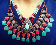 Hey, I found this really awesome Etsy listing at https://www.etsy.com/listing/192549352/free-shipping-afghan-blue-lapis-necklace