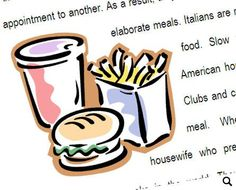 Test on comparatives, superlatives, modifiers, food, giving an opinion, revision of simple past and future