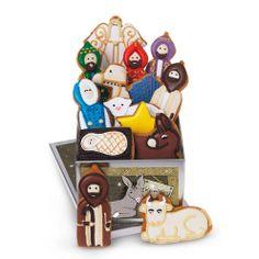 nativity biscuit tin