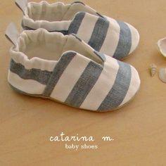 PATRÓN de costura zapatos de bebé modelo n.4 Catarina M.