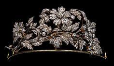 Royal Bavarian Tiara, Germany (diamonds, gold).