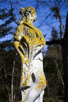 Sculpture in the La Creuzette garden Owl, Sculpture, Bird, Garden, Animals, Animales, Sculpting, Animaux, Owls