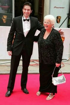and here we are.. Richard in full length at the BAFTA
