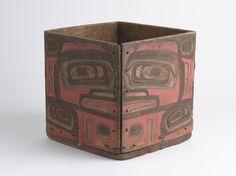 Tlingit brown bear box, 19th century or earlier. @cargocultist