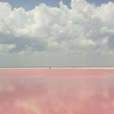 Lake Retba- the pink lake!