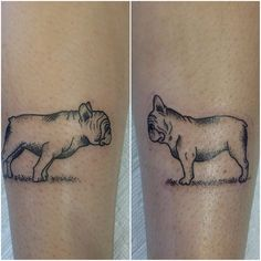 My French Bulldog tattoo