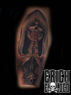 Tattoo Skull Totenkopf Tod Tattoo Artists, Skull, Portrait, Tattoos, Tatuajes, Headshot Photography, Tattoo, Portrait Paintings, Drawings