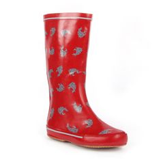 WSU rain boots!  I want these.