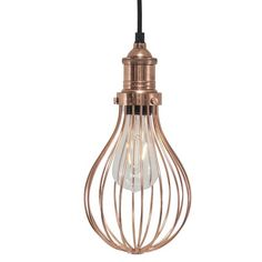 """Copper lighting is bang on trend right now and this Vintage Balloon Cage Copper Pendant Light 5"""" brings you style in abundance! Show off your favourite filament bulbs and create an edgy style in your home with this Vintage Balloon Cage Copper Pendant Light 5"""". Only £79. Click https://www.nucasa.co.uk/vintage-balloon-cage-copper-pendant-light-5/ to see more of this Vintage Balloon Cage Copper Pendant Light 5"""" #copperlighting #copperpendant"""