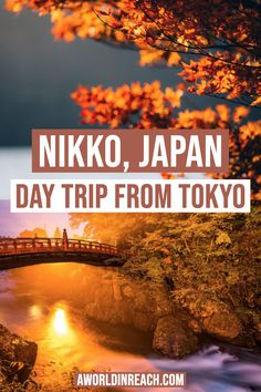 Need a break from the big city of Tokyo? Consider taking one of these exciting day trips from Tokyo, Japan! Things to Do in Tokyo / Day Trips from Tokyo / Things to Do in Japan / Day Trip to Nikko / Things to do in Nikko / Nikko day trip / Things to see in Nikko / Beautiful places near Nikko / what to do in Nikko / beautiful places in Japan