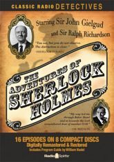 The shows created by this very special team are possibly the greatest Sherlock Holmes radio programs ever produced. This set features all 16 episodes in their most complete surviving examples.