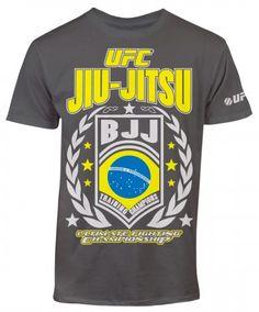 UFC Jiu Jitsu T-Shirt - Charcoal Mma Shirts, Jiu Jitsu T Shirts, Ufc, Charcoal, Mens Tops, Clothes, Shopping, Outfits, Clothing