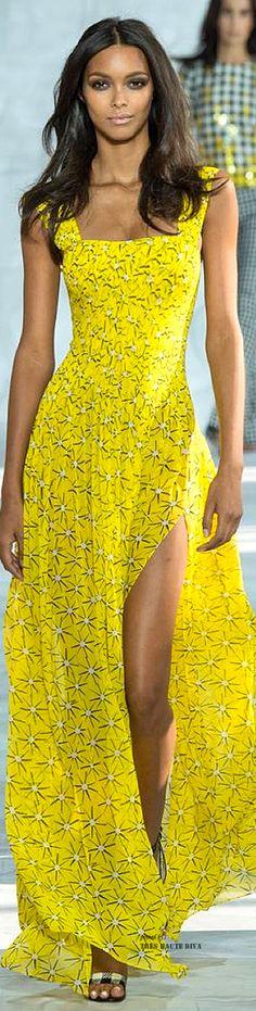 """the-chanel-charade: """" thevsangelz: """" New York Fashion Week Update Lais Ribeiro walking Diane von Furstenberg Spring Summer 2015 """" X """" New York Fashion, Runway Fashion, Spring Fashion, High Fashion, Fashion Show, Womens Fashion, Fashion Design, Fashion 2015, Female Fashion"""
