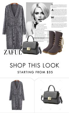 """""""Cardigan style"""" by difen ❤ liked on Polyvore featuring vintage"""