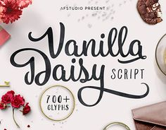 "Check out new work on my @Behance portfolio: ""Vanilla Daisy Font"" http://on.be.net/1O64caK"