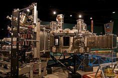 From 2010, a decommissioned research tokamak (fusion reactor) at  #TheCanadaScienceandTechnologyMuseum #Ottawa.