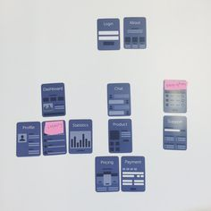 New UX cards for planning layouts at high level. Yeah, they're rad.