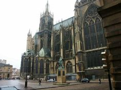Metz Cathedral- Contains one of the largest collections of Stain Glass in Europe