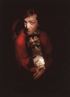 The incomparable Stephen Fry, English actor, screenwriter, author, playwright, journalist, poet, comedian, television presenter, and film director