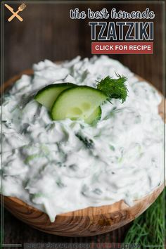 Tzatziki sauce can either be boring and bland or it can be flavorful and delicious. This recipe is so easy to make and tastes incredible! This is the best tzatziki recipe I've ever enjoyed. Nothing I've ever bought at the store even compares. This tasty dip can be used in so many ways.