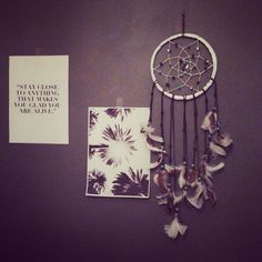 Dreamcatcher (diy) stay close to anything that makes you happy