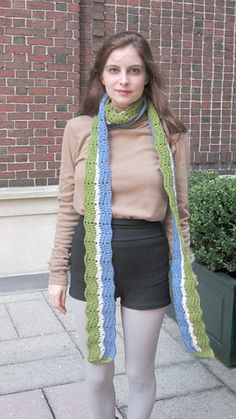 Ripple Mania, ebook with 7 crochet stitch patterns and 3 ripple project patterns including the Eyelet Ripple Infinity Scarf (pictured), by Marie Segares (Underground Crafter) Crochet Stitches Patterns, Stitch Patterns, Crochet Afgans, Cowls, Ravelry, Infinity, Scarves, Gift, Fashion
