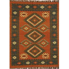 Hand-woven Wool/ Jute Rug (8' x 10'6)   Overstock™ Shopping - Great Deals on 7x9 - 10x14 Rugs
