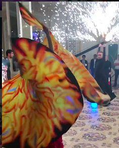 """Крылья для танца """"Пламя"""""""