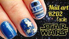 TUTO NAIL ART STAR WARS R2-D2 FACILE