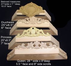 canopy crown for boy or girl's crib custom by PrincessCanopyShop, $120.00