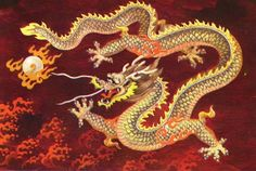 Chinese dragon - history of the pearl