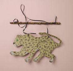 Prowling Jungle Cat Mobile craft