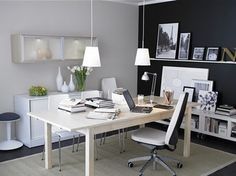 Office Insurance, Modern Office Designs, Home Office Furnitures, Office Decoration: Best Home Office Interior Designs Appropriate on Your Personality