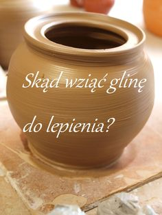 Koroneczka - frywolitki i ceramika: Skąd wziąć glinę do lepienia?