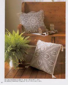 Декоративні подушки PINEAPPLE LACE гачок
