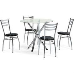Todas Ofertas Online - Conjunto 4 Cadeira Fixa com Encosto Chapa preto com cinza floral - Artri.Por R$ 697,00 em 12x de R$ 58,08 sem juros.Oferta em 06/09/2013.Acesse e veja mais 10.000 ofertas!