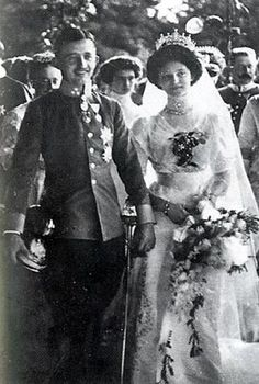 Archduke Karl of Austria and Princess Zita of Bourbon-Parma - 1911