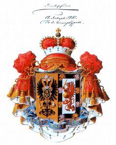 Геральдика сегодня || ЮРЬЕВСКИЕ, российские светлейшие князья (ОГ, XIV, 3)