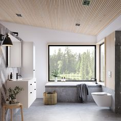 Oh My Home, Interior Decorating, Interior Design, Bathroom Toilets, Nordic Style, Rustic Interiors, Beautiful Bathrooms, Outdoor Projects, Modern Architecture