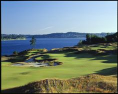 Where I grew up...Chambers Bay Golf Course, University Place, WA...home of the 2015 US Open.