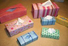 Схемы коробочки под торты