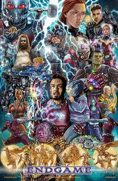 Avengers endgame art by kirk manley Marvel Dc Comics, Marvel Avengers, Marvel Comic Universe, Marvel Funny, Marvel Movies, Marvel Heroes, Marvel Cinematic Universe, Funny Avengers, Logo Super Heros