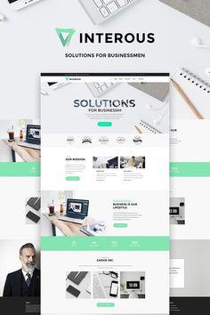 Interious - Business Services WordPress Theme Big Screenshot