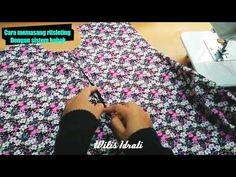 Sewing techniques dress how to make super Ideas Sewing Jeans, Sewing Aprons, Sewing Clothes, Diy Bags No Sew, Diy Sewing Table, Tandoori Masala, Pola Lengan, Sewing Machine Embroidery, Felting Tutorials