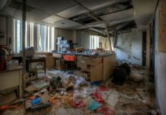 Photograph taken at Biohazard lab, Monsour Medical Center, currently being demolished.  Full gallery on my website here: http://www.abandonedamerica.us/biohazard  As always, resharing my work is appreciated