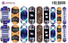Jamberry Star Wars nail wraps....want these ? E-mail me at ...