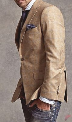 Men sport coat with jeans (77)  ❤❤♥For More You Can Follow On Insta @love_ushi OR Pinterest @ANAM SIDDIQUI ♥❤❤